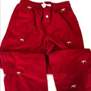 Crewcuts boys flannel pajama bottoms